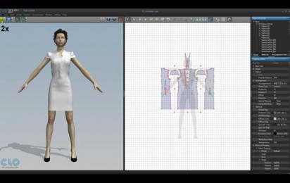 Demos Clo 3d Fashion Design Software Virtual Fashion Marvelous Designer