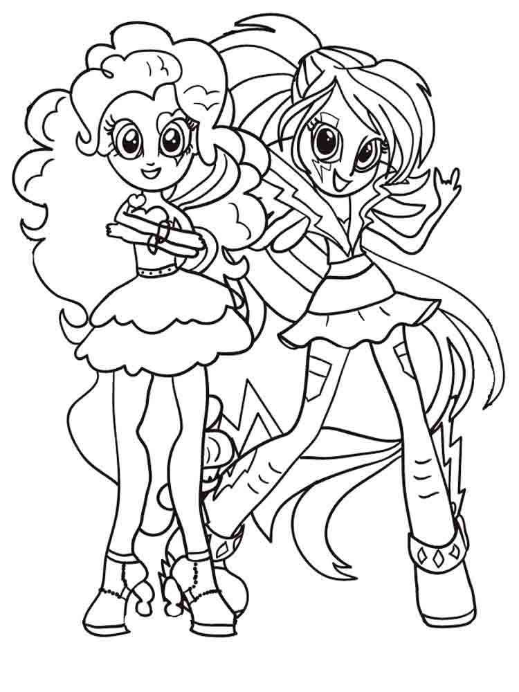 Image result for my little pony equestria girl coloring