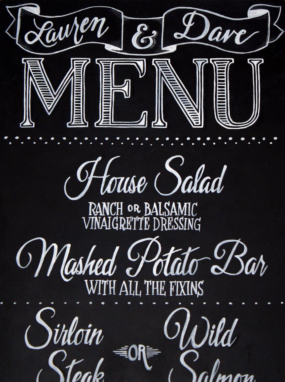 chalkboard menu lettering chalkboard menu signs chalkboard art