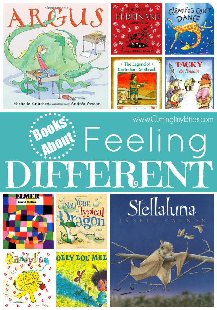 Books About Feeling Different Kid Blogger Network Activities