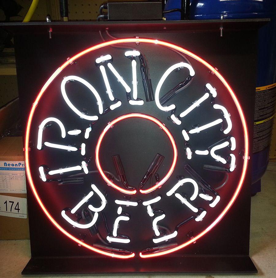 Iron City Beer Custom #Neon Bar Sign http://www