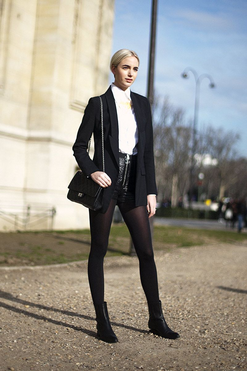 Street Style en Paris Fashion Week © Josefina Andrés