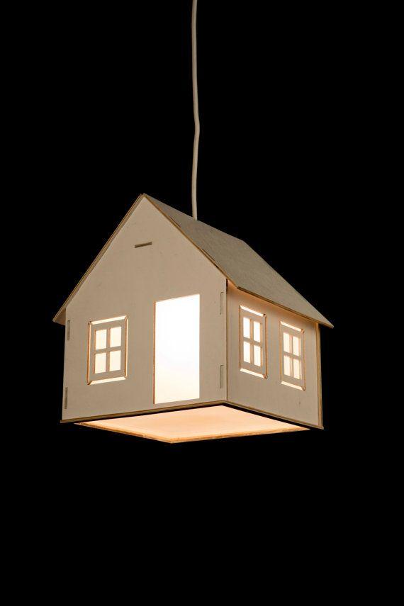 Kinder Lampe, Kinder Lampe, Lampe für Baby, hölzerne Hängelampe - lampe für schlafzimmer
