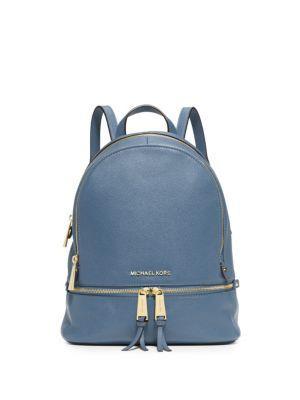 c5f39cbcc1c6 MICHAEL MICHAEL KORS Rhea Zip Mini Backpack. #michaelmichaelkors #bags  #leather #backpacks #