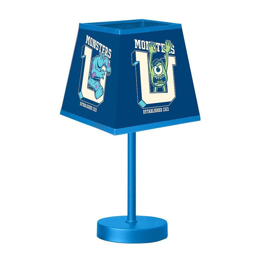 Disney Pixar Monsters University 3 Piece Room In A Box: Disney Pixar Monsters University Table Lamp