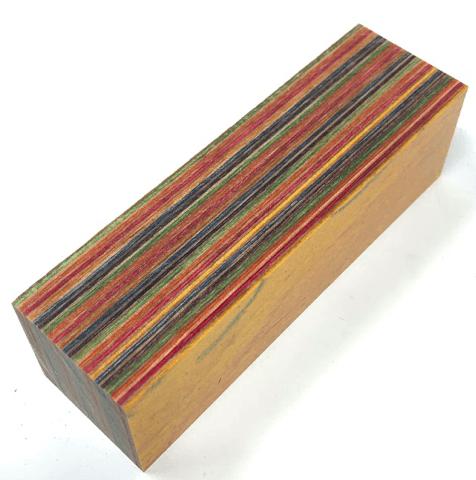 Dymalux Skateboard Laminated Wood Turning Blank 1 5 X 1 5 X