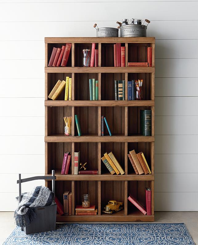 Magnolia Home Cubby Bookcase