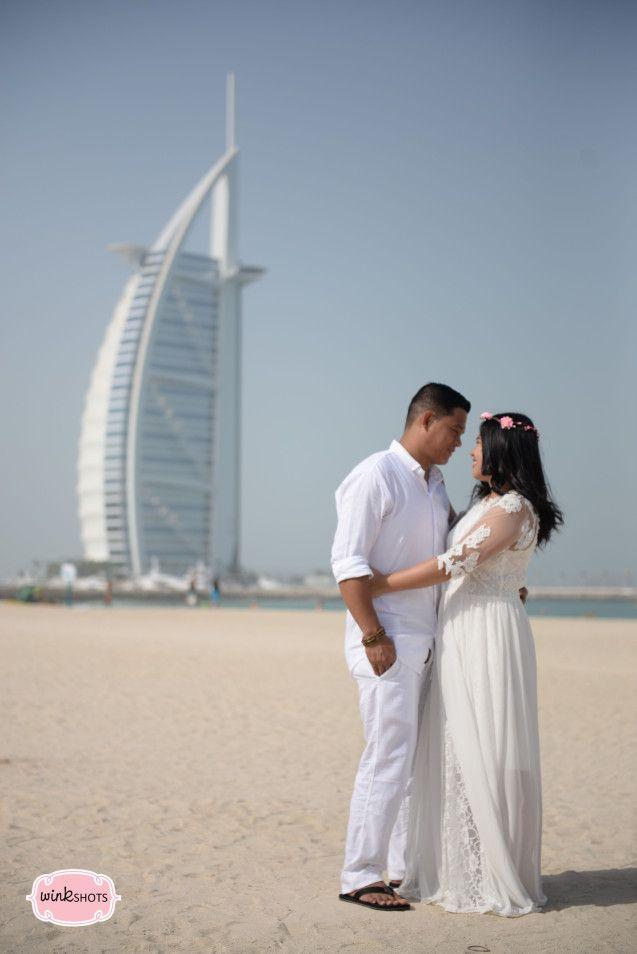 Beach Theme Wedding Prenup 3 Burj Al Arab Prenup Pinterest
