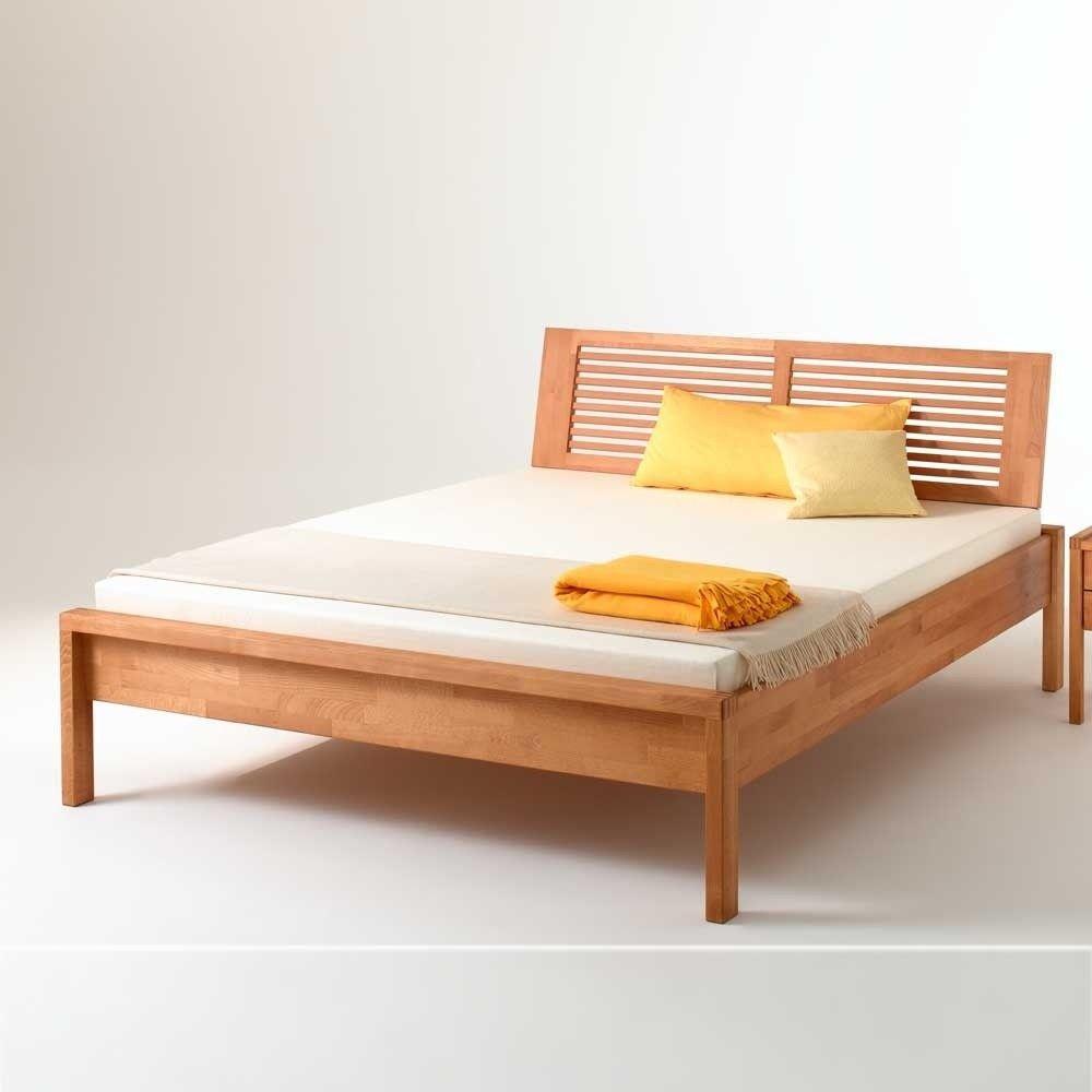 Massivholz Bett Buche 140x200 Pasterra Bed Design Home Decor Bed