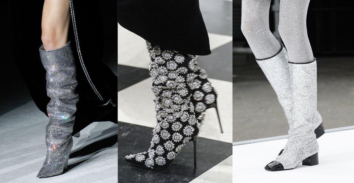 10 tendances chaussures repérées à la Fashion Week automne,hiver 2017,2018