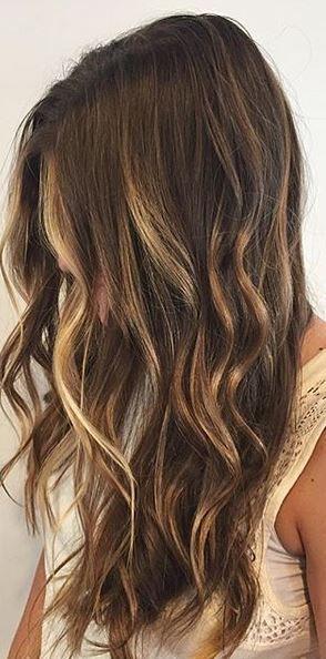 Mane Interest Sunkissed Hair Brunette Hair Highlights Summer Brown Hair
