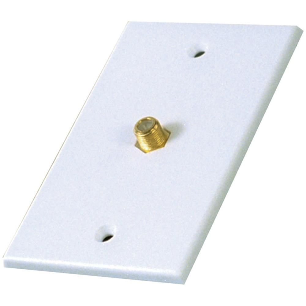 RCA VH61R Single Coaxial In-Line Wall Plate. Fits standard ...