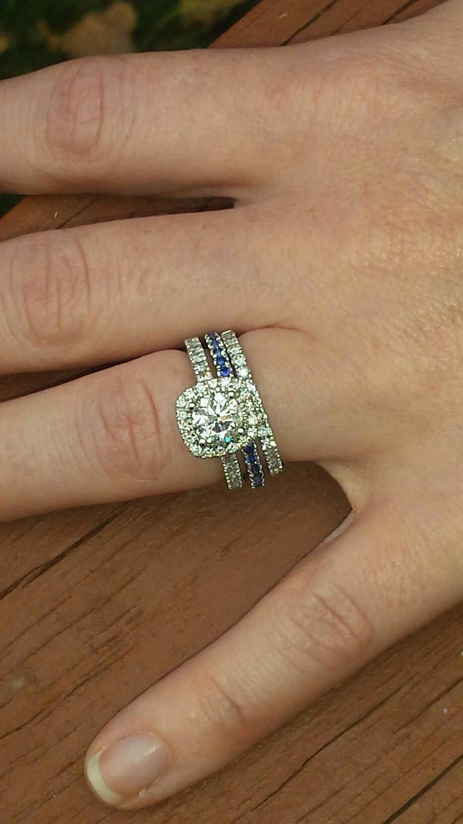 my pd wedding engagement law wife police lines rings thin enforcement ring blue pin line