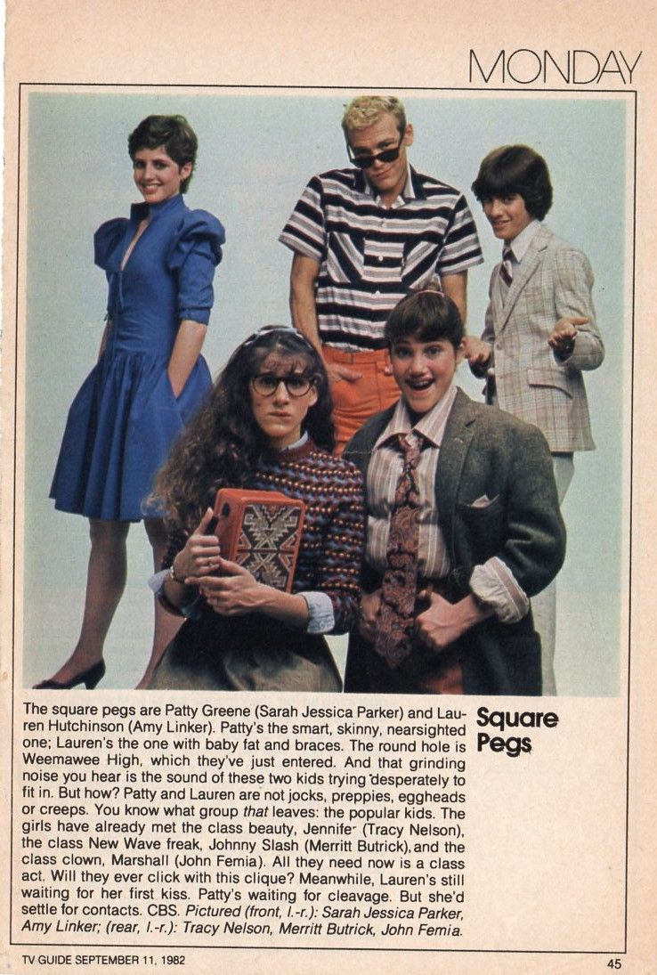 Square pegs write up from 1982 tv guide fall preview