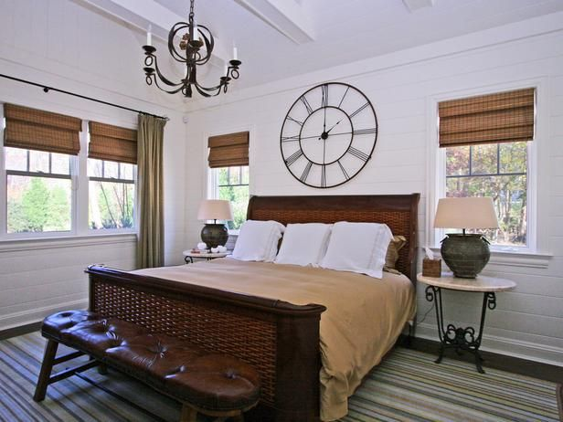 How To Decorate With Large Clocks And My Favourite Oversized Clocks Bedroom Wall Clock Small Bedroom Small Master Bedroom