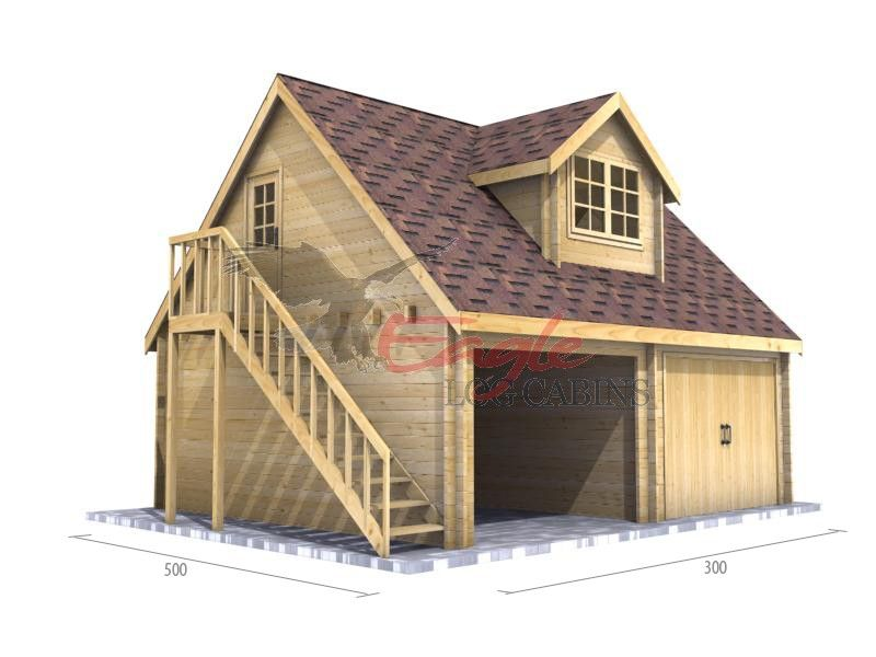 Timber Garage 005 6 0m X 5 0m Timber Garages Equestrian Cabin Collections Timber Garage Timber Frame Garage Wooden Garage
