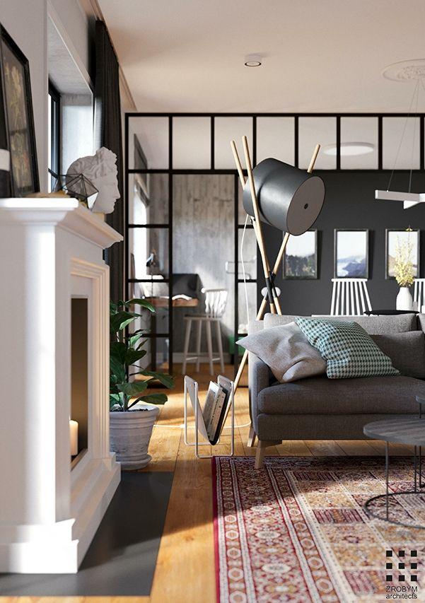 Un appartement scandinave et masculin à minsk appartement scandinavedeco industrielledeco salonplanete
