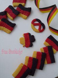 Frau Brotbäcker: Deutschland Kekse
