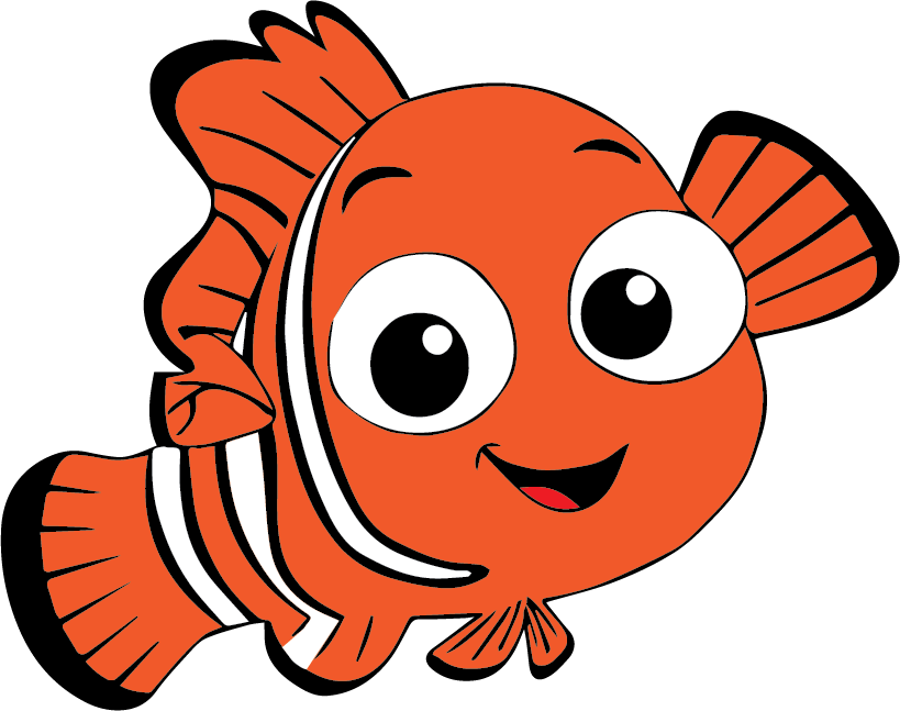 Nemo Svg Nemo Coloring Pages Finding Nemo Characters Finding Nemo