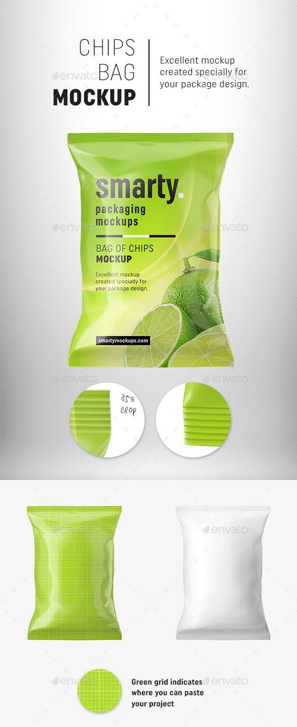 Download Chips Bag Mockup Bag Mockup Chip Bag Chip Bags