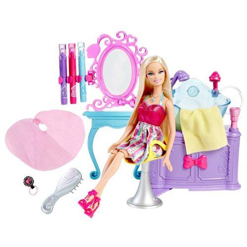 Barbie Hairastic Hairtastic Color And Wash Salon