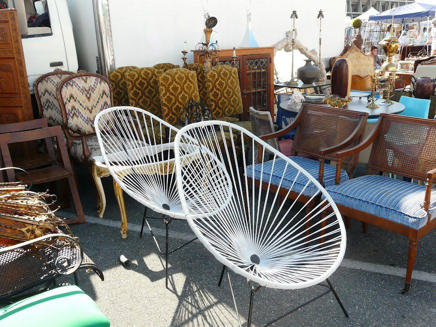 Beautiful Find This Pin And More On Home Furnishings At The Long Beach Flea By  Longbeachmarket. Funky Vintage Chairs