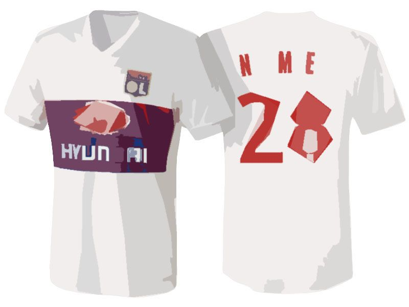 first rate 435fa bcbaf Lyon Jersey Shirt For Cheap 17-18 tanguy ndombele Home Kit ...