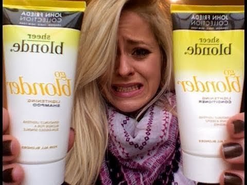 Product Rant: John Frieda Go Blonder #MakeUp #Beauty #FleurDeForce love @fleurdeforce - http://goo.gl/rHQuEl