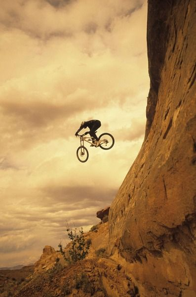 A Custom Wallpaper Of Extreme Cycling Called Cycle Down Mountain Biker Mountain Biking Extreme Adventure