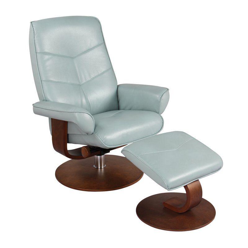 Astounding Fontenot Manual Swivel Recliner With Ottoman In 2019 A Lamtechconsult Wood Chair Design Ideas Lamtechconsultcom