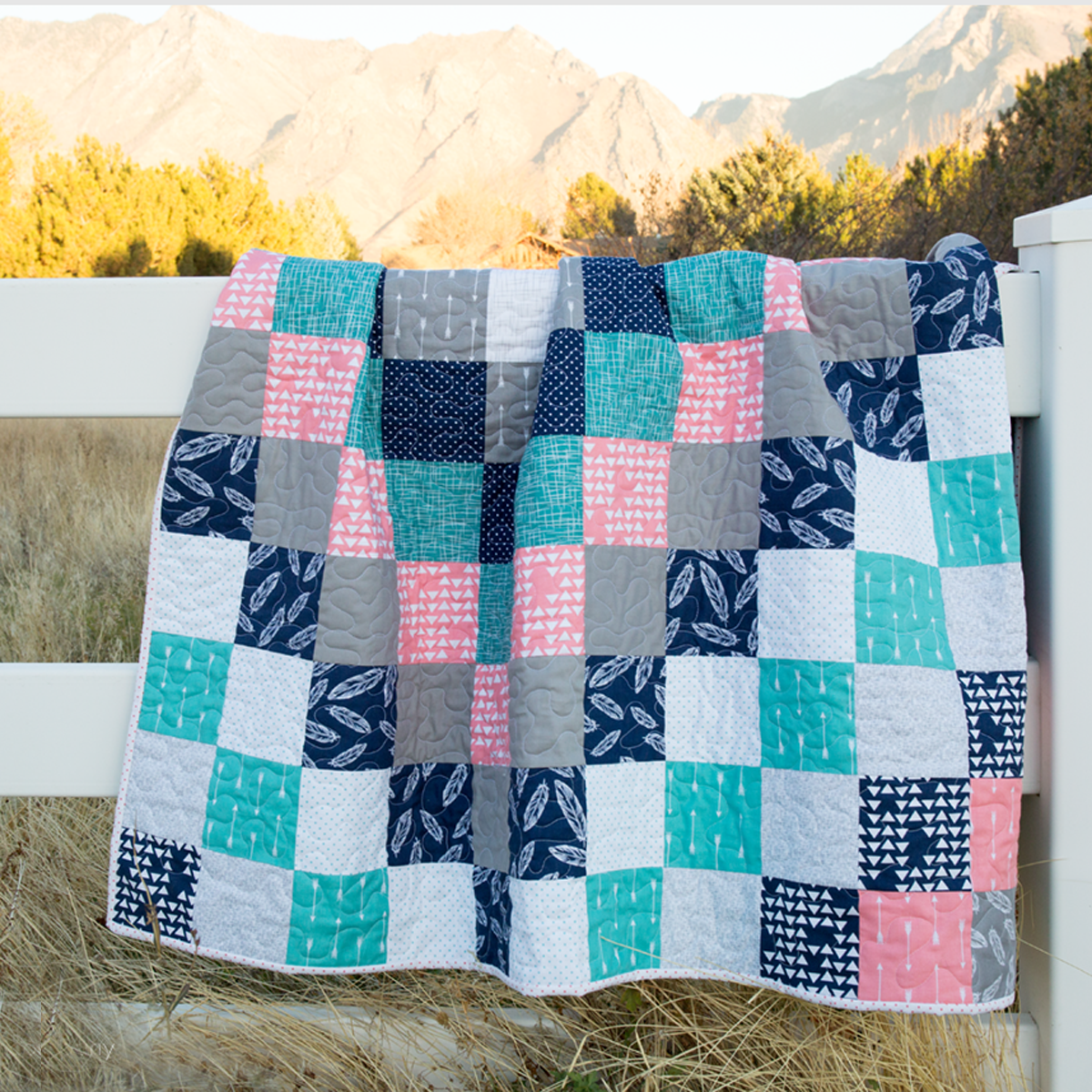 Patchwork Quilting For Beginners: 5 Baby Quilt Patterns For Beginners
