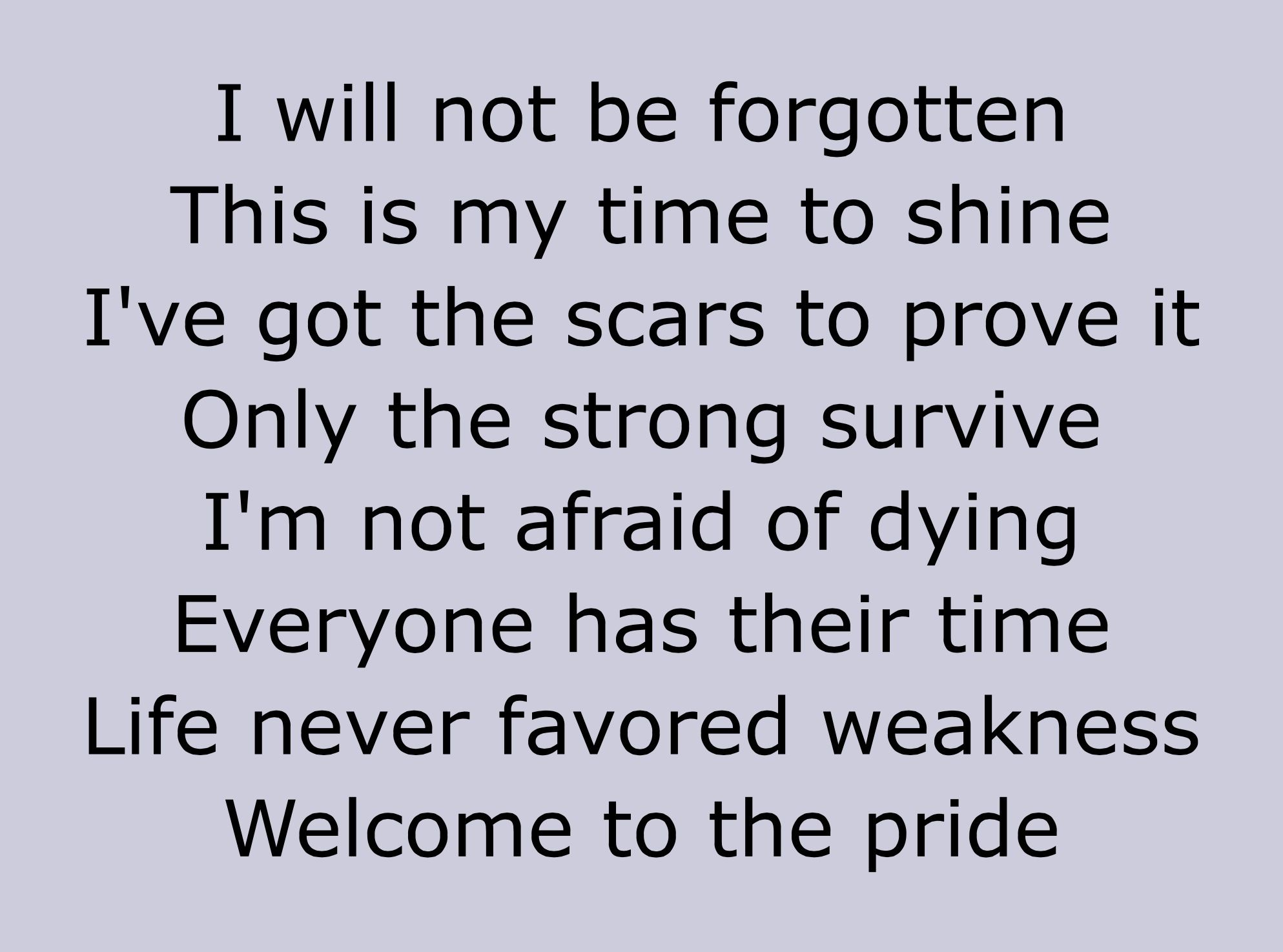 Five Finger Death Punch -The Pride