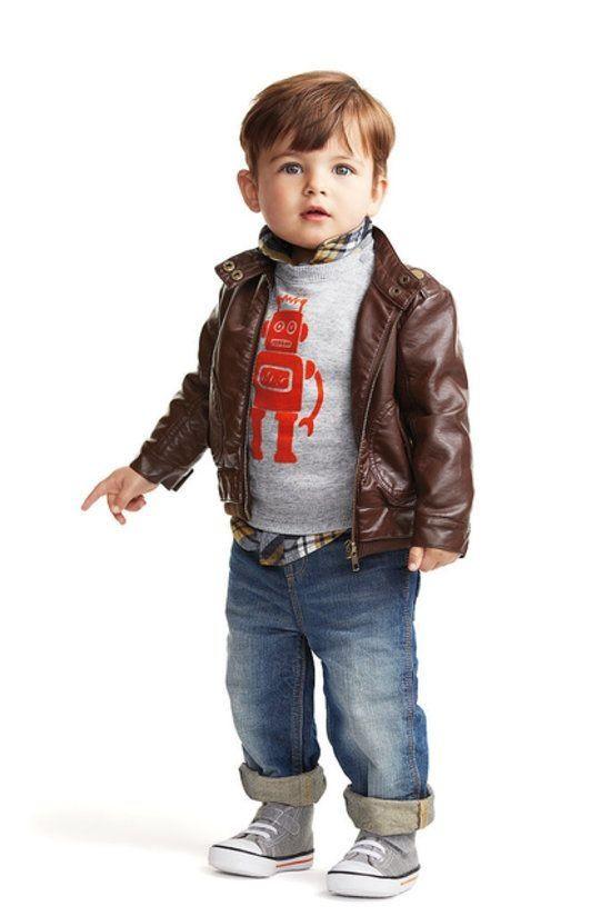 #TuFiestaTipInfantil -Moda para niño en otoño para cualquier fiesta infantil outfit completo.