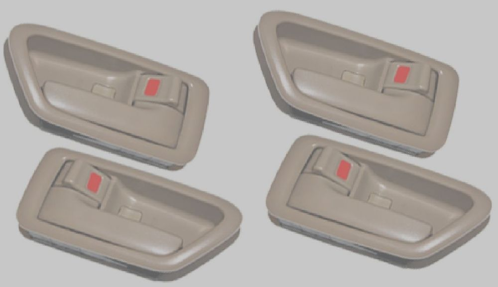 4 Inside Interior Door Handle Set Tan For Toyota Camry 1997 1998 1999 2000 2001 Door Handle Sets Toyota Camry Door Handles