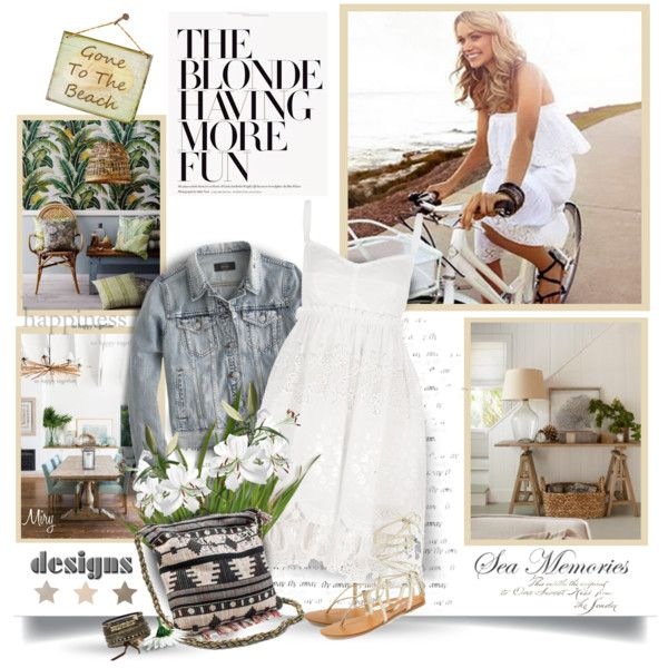 Gone To The Beach by thewondersoffashion on Polyvore featuring moda, Dolce&Gabbana, J.Crew, Steve Madden, Muk Luks, BKE, dolceandgabbana, jcrew, SteveMadden and summer2015