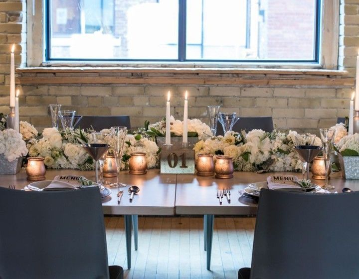Styled shoot chic industrial wedding reception ideas from styled shoot chic industrial wedding reception ideas from weddingstar modwedding junglespirit Choice Image