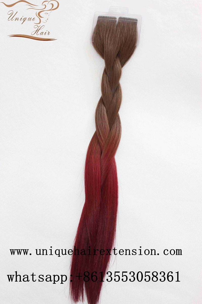 Rooted Tape In Hair Extensions Manufacturer By Qingdao Unique Hair
