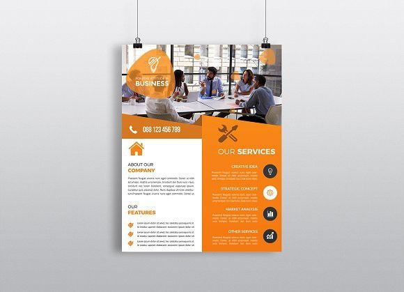 Business Flyer Template Promotion Flyer Usletterpaperflyer