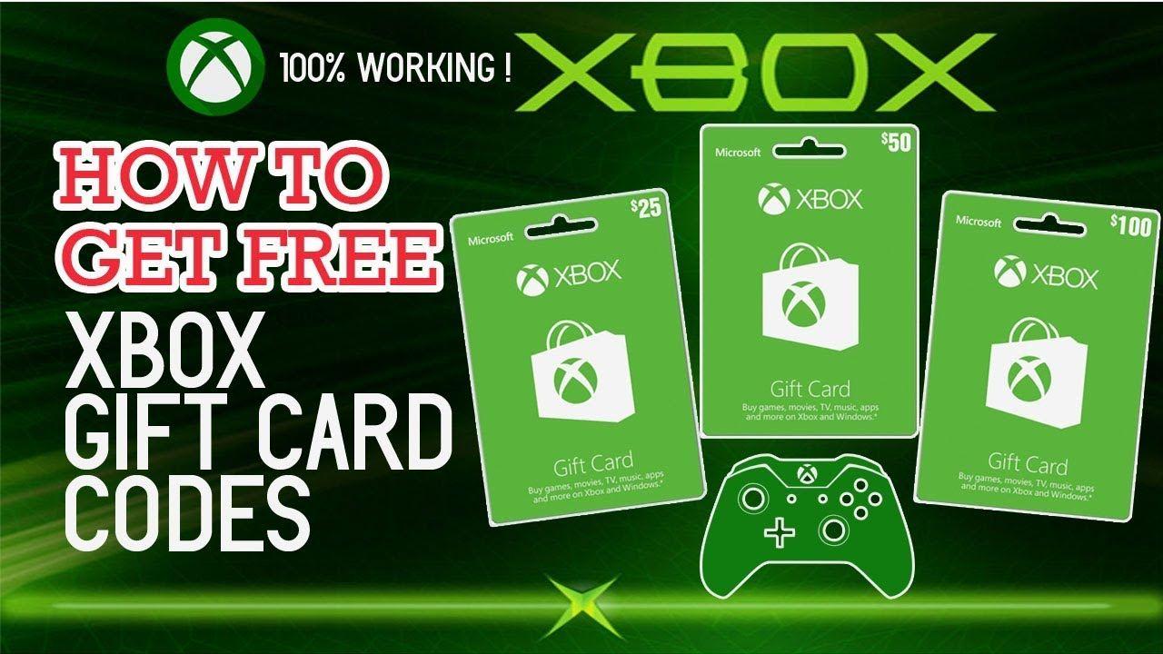 xbox one game code free en 2020