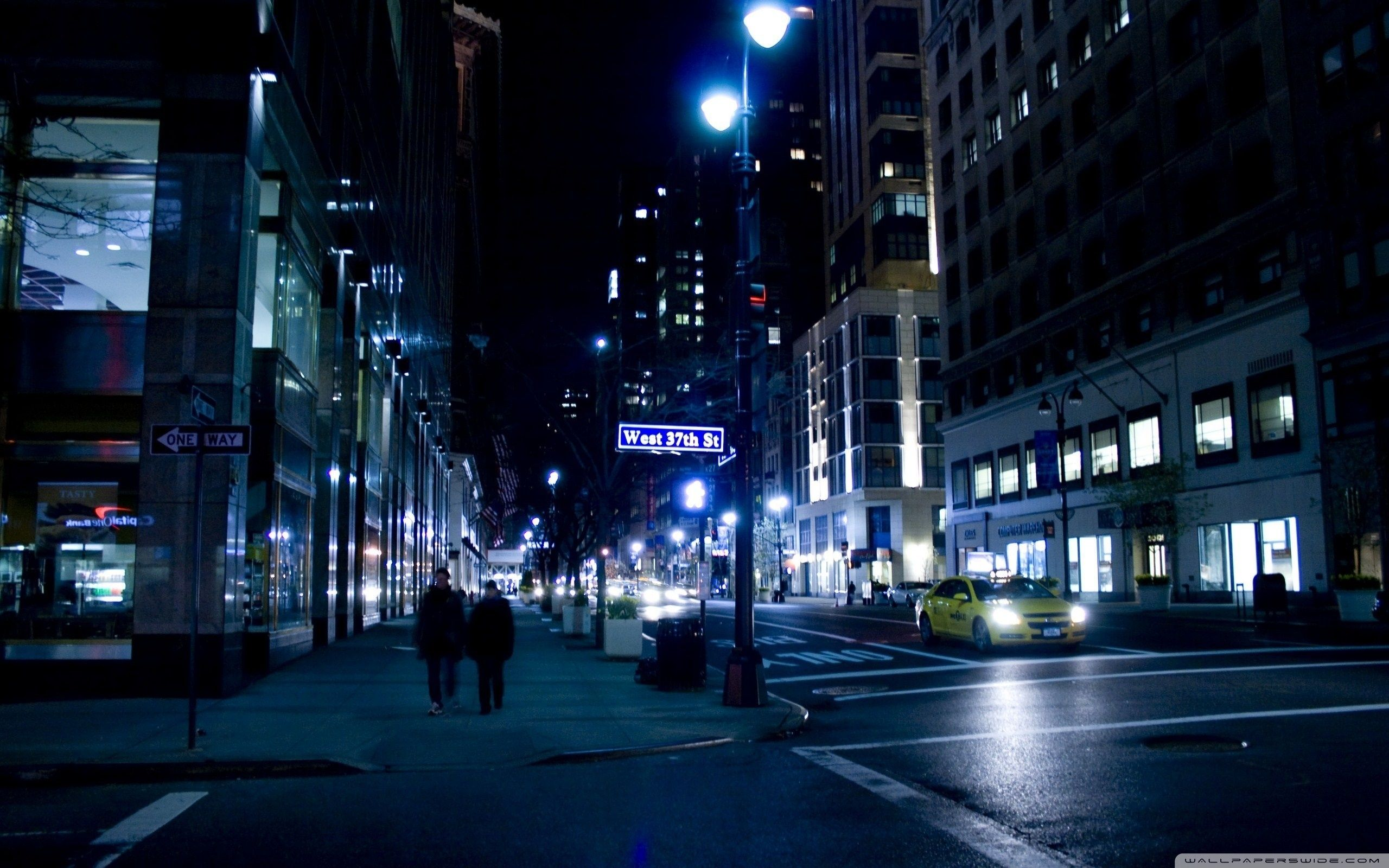 10 Top City Street Night Wallpaper Full Hd 1920 1080 For Pc Desktop City Wallpaper Night City Urban Landscape