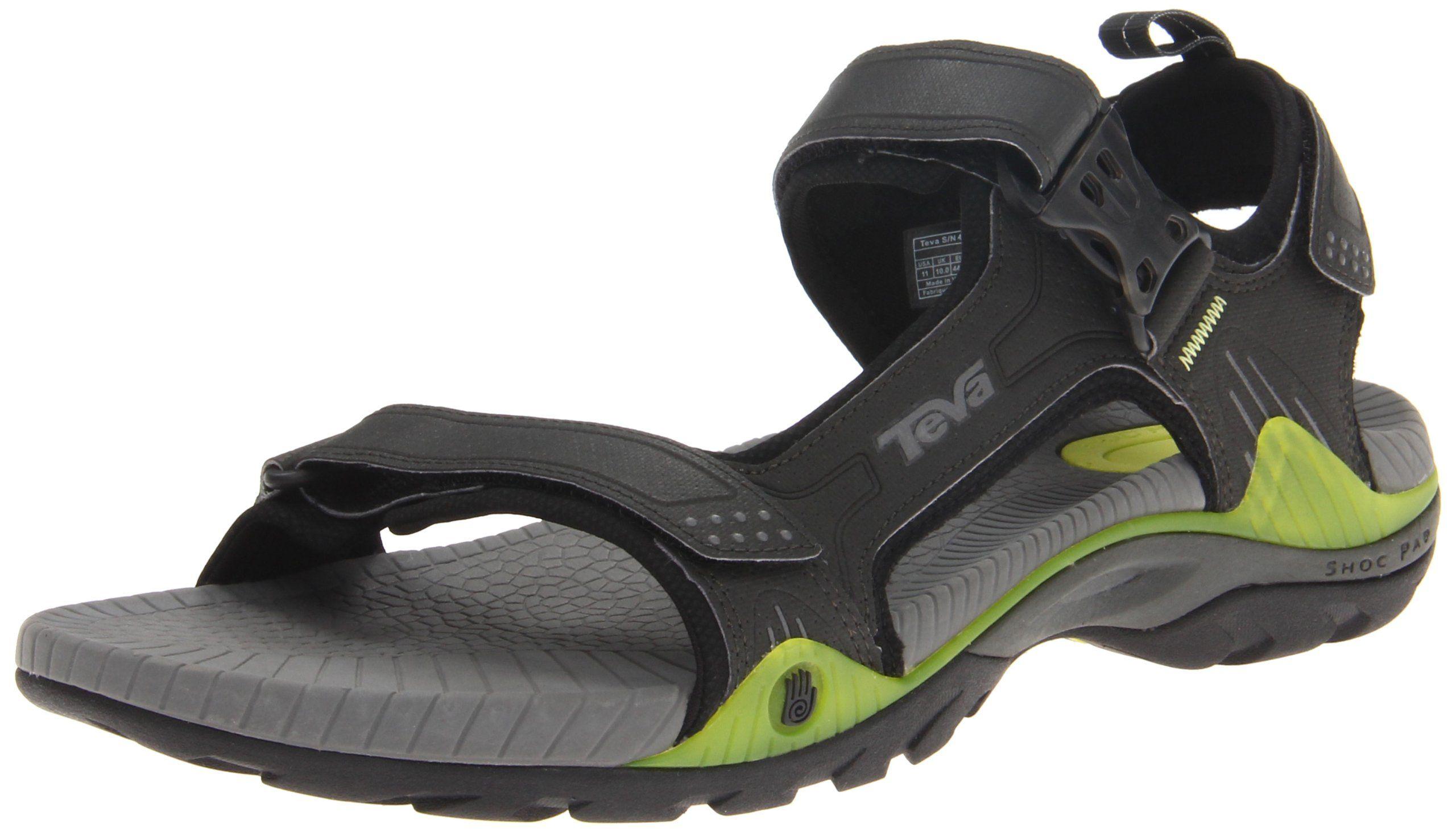 Teva Men's Toachi 2 Sandal,Charcoal Grey,7 M US