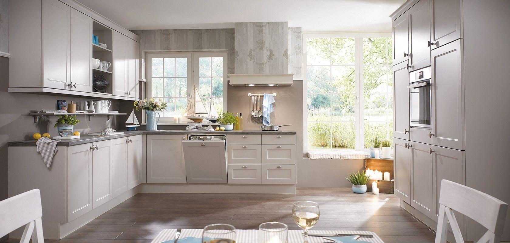 CHALET 20, Sand matt (Moderner Landhaus-Stil)  nobilia Küchen