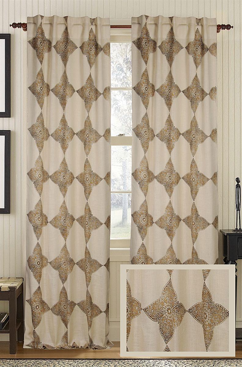 Luxury Designer Astounding Jute Curtain Panel By Creative Threads