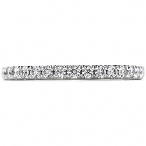 Hearts on Fire wedding band. 0.30 ctw. Repertoire Select Wedding Band in 18K White Gold from www.scovillejewelers.com