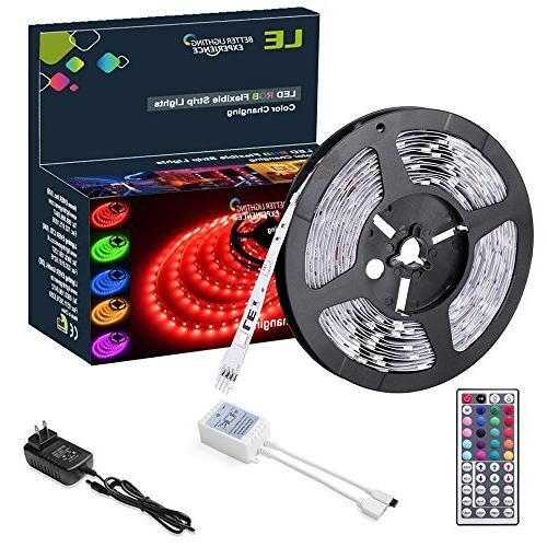 Le 12v flexible rgb led light strip kit colour changing 150 units le 12v flexible rgb led light strip kit colour changing 150 units 5050 leds aloadofball