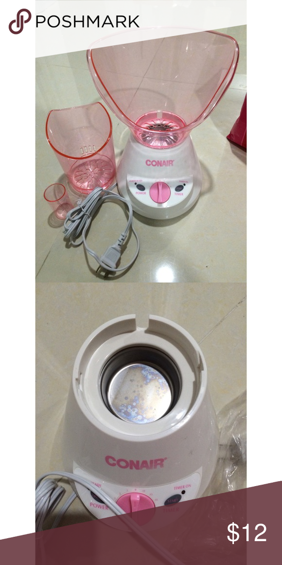 Used facial steamers