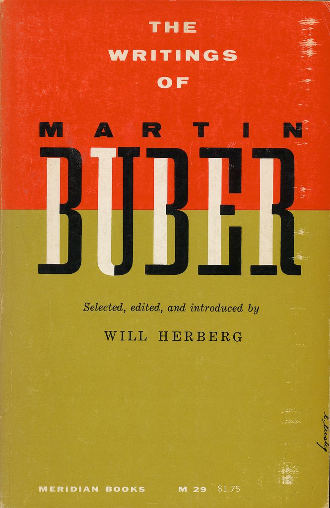 The Writings Of Martin Buber, cover by Elaine Lustig