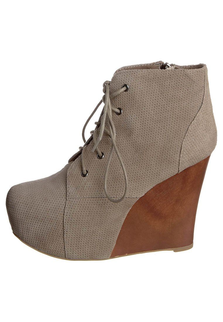 Jeffrey Campbell TWO TIMER - Lace-ups - beige