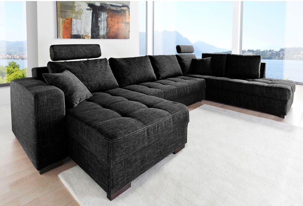 Canap d angle convertible avec m ridienne meubles pas cher couch furniture decor - 3 suisses canape ...