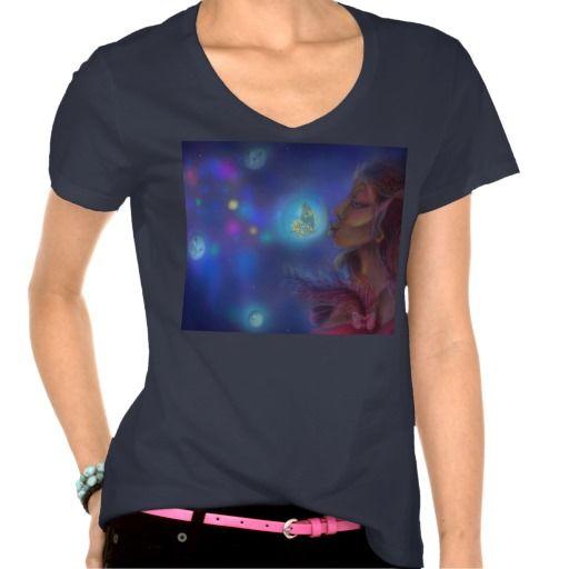 Kissing Wishes Women's Hanes Nano V-Neck T-Shirt